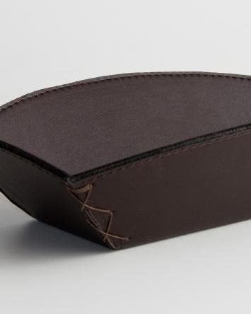 Panera grande marrón liso